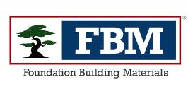 Foundation Building Materials (FBM) Logo