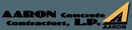 Aaron Concrete Contractors Logo