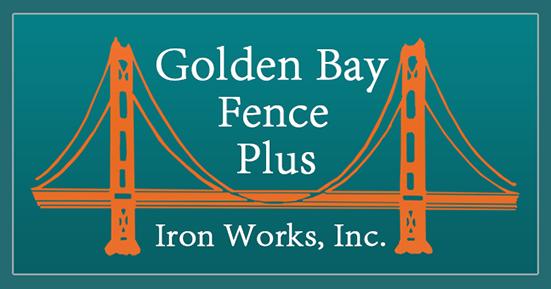 Golden Bay Fence Plus Iron Works Logo