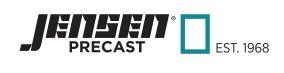 Jensen Precast-logo