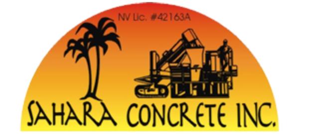 Sahara Concrete Logo