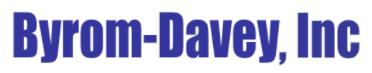 Byrom-Davey Inc Logo