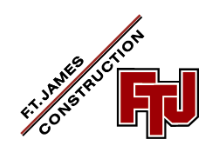 F. T. James Construction-logo