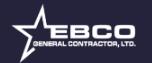 EBCO General Contractors, LTD Logo