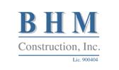 BHM Construction-logo
