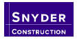 Snyder Construction (MI)-logo