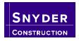 Snyder Construction (MI) Logo