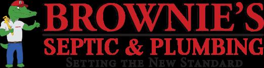 Brownie's Septic & Plumbing Logo