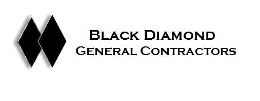 Black Diamond General Contractors Logo