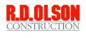 R.D. Olson Construction-logo