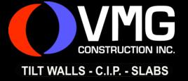 VMG Construction Inc Logo