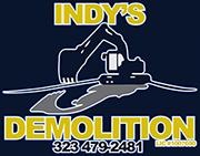 Indy's Demolition Logo