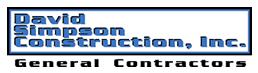 David Simpson Construction Co Logo