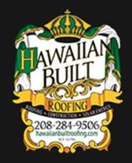 Hawaiian Built Roofing Logo