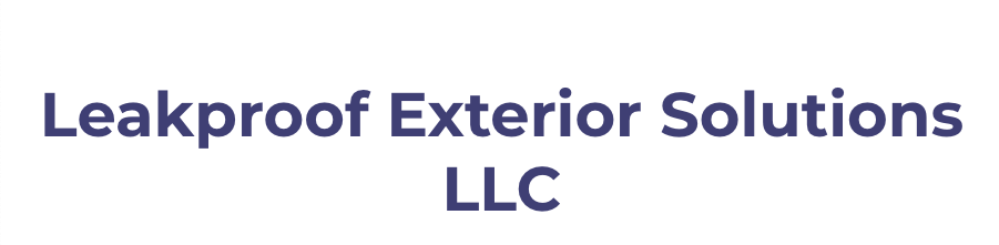 Leakproof Exterior Solutions LLC-logo