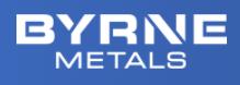 Byrne Metals Logo