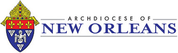 The Roman Catholic Church of Archdiocese New Orleans Logo