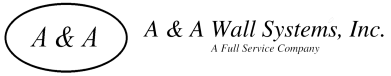 A & A Wall Systems-logo