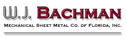 W.J. Bachman Mechanical Sheet Metal Co Logo
