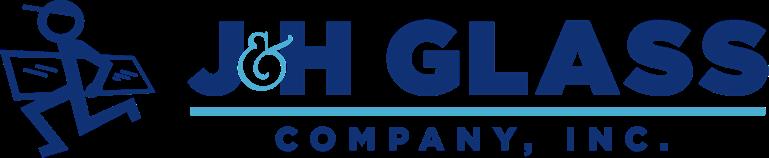 J & H Glass Company Inc. Logo