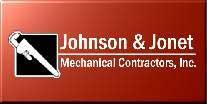 Johnson & Jonet Mechanical Contractors Logo