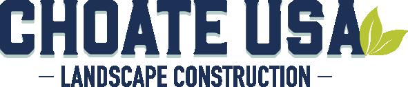 Choate USA Landscape Construction Logo