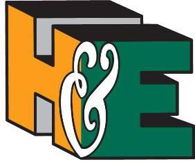 H&E Construction-logo