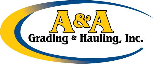 A & A Grading Hauling-logo