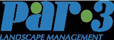 Par-3 Landscape & Maintenance Logo