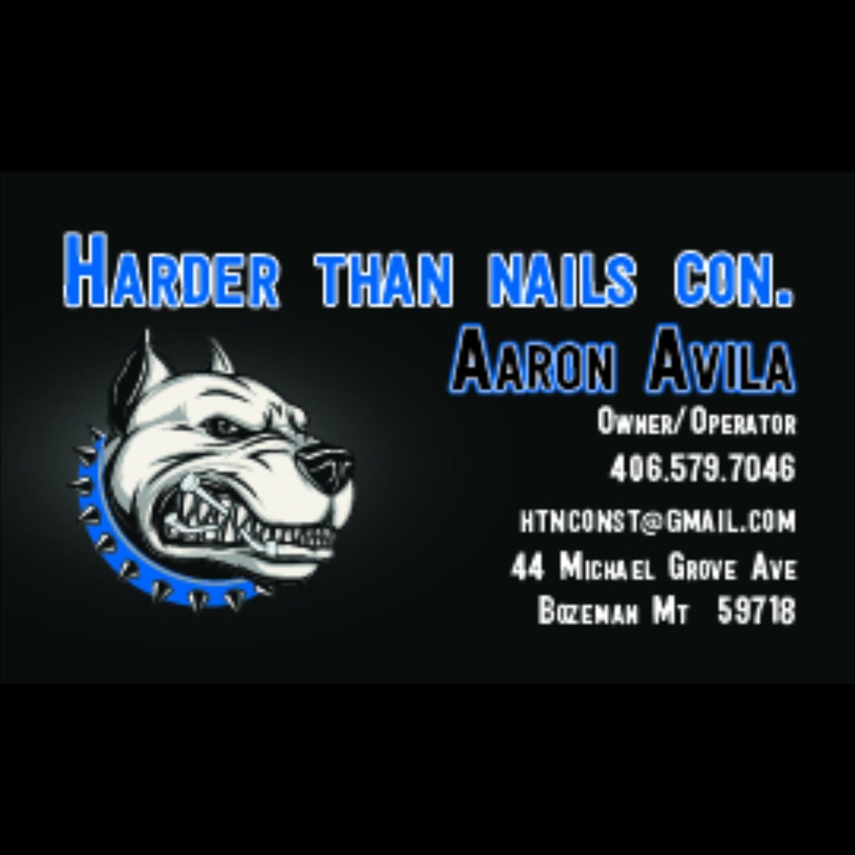Harder Than Nails Construction-logo