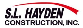 S.L. Hayden Construction Inc.-logo