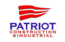 Patriot Construction And Industrial Logo