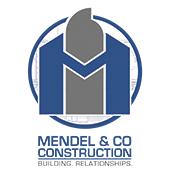 Mendel & Co Construction Logo
