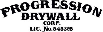 Progression Drywall Corp. Logo