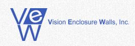 Vision Enclosure Walls Inc Logo