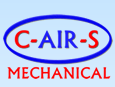C-AIR-S Mechanical Inc. Logo