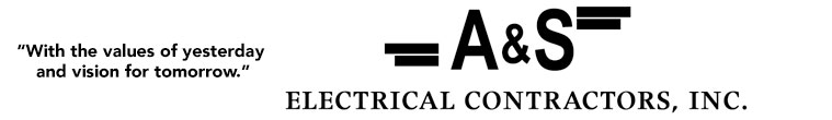 A & S Electrical Contractors, Inc.-logo