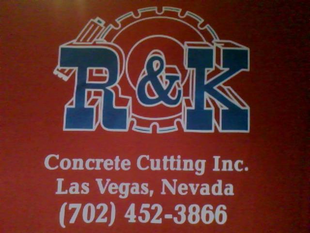 R&K Concrete Cutting Logo