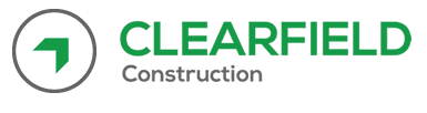 Clearfield Construction Logo