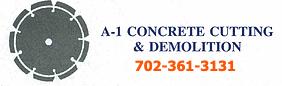 A1 Concrete Cutting & Demolition (NV) Logo