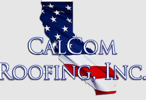 CalCom Roofing Inc. Logo