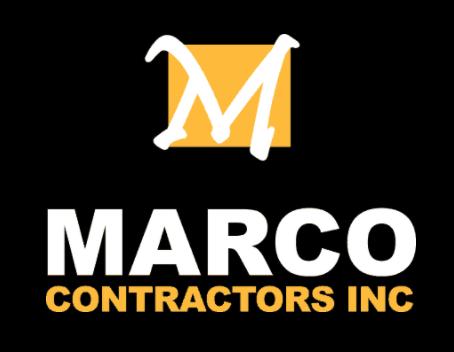 Marco Contractors Inc Logo