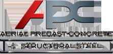 Aerial Precast Concrete & Structural Steel-logo