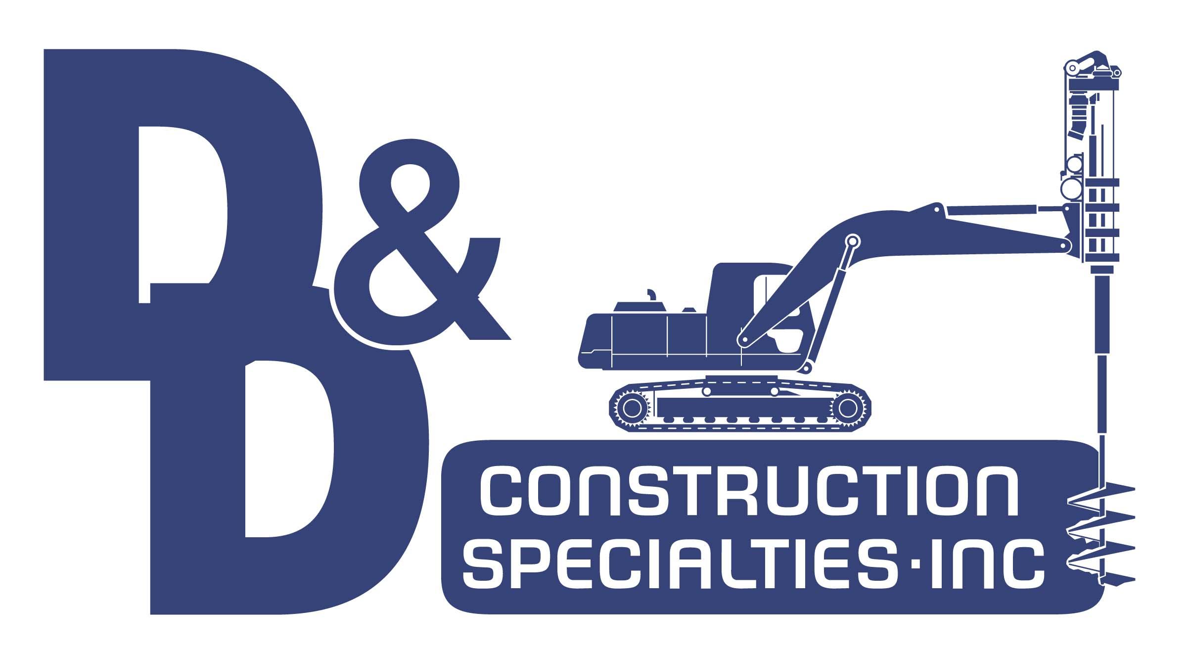 D & D Construction Specialties Inc-logo
