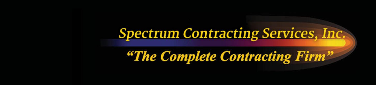 Spectrum Contracting Services Logo