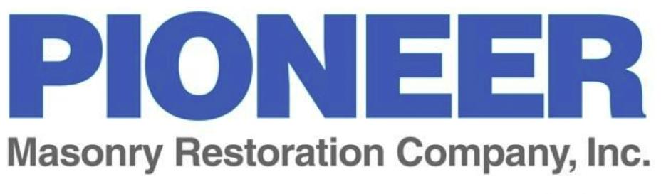 Pioneer Masonry Restoration Logo