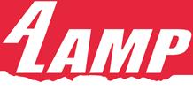 A Lamp Concrete Contractors Logo