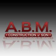 A.B.M. Construction & Son-logo