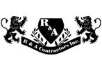 R & A Contractors-logo