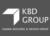 Kajima Building & Design Group (KBD) Logo